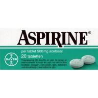 Aspirine 500mg 20 Tabl.