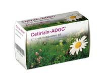 Cetirizin ADGC 100 Tabl.