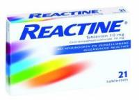 Reactine Cetirizin 7 Tabl.