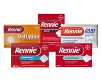 Rennie Deflatine 680/80/25 mg 18 Tabl.