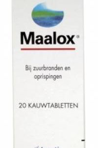 Maalox Kautabletten 40 st.