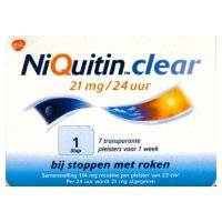 NiQuitin Clear 21 mg 14 Pflaster - stufe 1