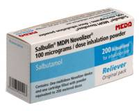 Salbulin Novolizer 100 mcg/Dosis NachfŸllpackung 200 Dosen