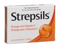 Strepsils original 0.6/1.2 mg 24 Lutschtabl