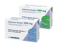 Valaciclovir 500 mg 10 Tabl.