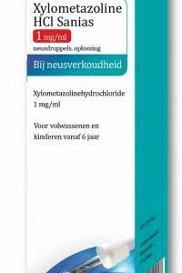 Sanias Xylometazoline Nasentropfen 1 mg/ml 10 ml